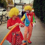 ピエロの「オスカー君の引退サヨナラパレード」に参加させていただきました!