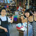 三六亭のおかあさんと仲良くなった記念に、バルーンをプレゼントしました