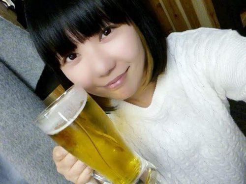 生ビールとおかっぱミユキ