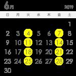 6月の生配信スケジュール決定!
