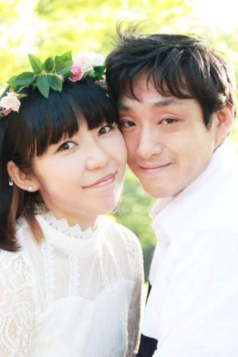 おかっぱミユキ夫婦写真