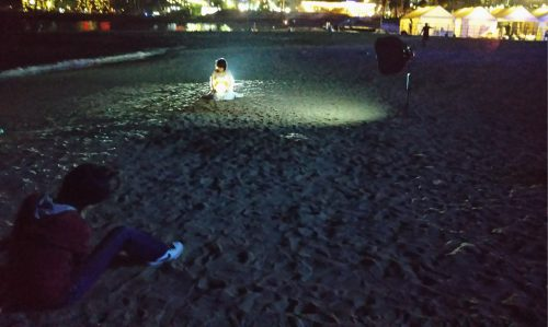 おかっぱミユキ熱海でマタニティフォト