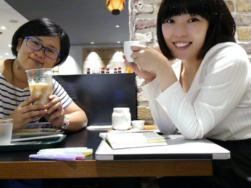 HIROさんとおかっぱミユキ
