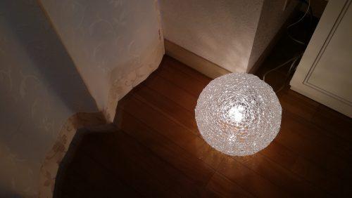 エステルームの照明