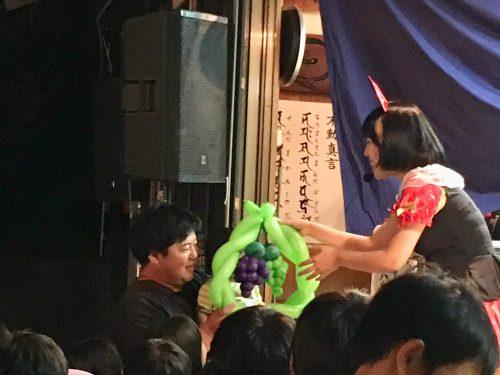 おかっぱミユキバルーンショー