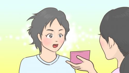 おかっぱミユキのイラスト