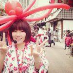 【9/14】浅草花やしきでバルーンショー!