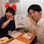 【似顔絵】大盛り上がりのお誕生日パーティー!