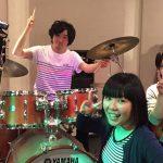 バンド「エレジー」4人、音楽スタジオで遊んできた。