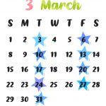 3月の生配信スケジュール